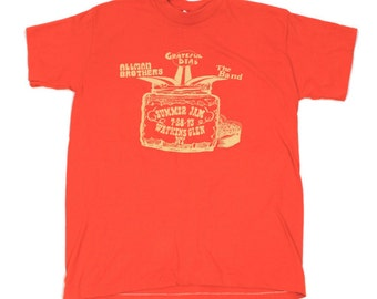 Grateful Dead Alman Brothers Summer Jam 73' Tee