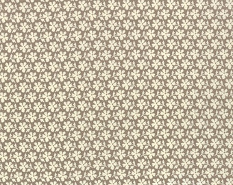 Strawberry Fields Revisited brown floral 20267-18 by Fig Tree Quilts for moda fabrics