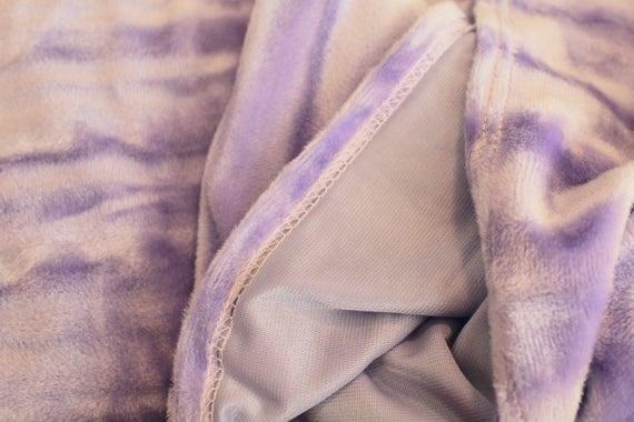 """Crushed Velvet Fabric,Lavender Crushed Velvet Fabric,Apparel Fabric,Coat Fabric,Pastel Fabric,END OF BOLT Remnant 1 Yard 10"""" x 17"""" Wide"""