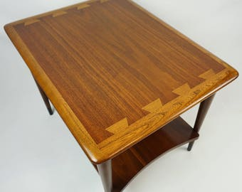 Mid century modern table / Lane Acclaim end table / Lane Acclaim / mcm side table 2