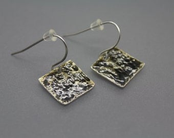 Clearance|fused glass jewelry|enamel jewelry|enamel earrings|colorful jewelry|glass jewelry|enameled jewelry|square earrings|ready to ship