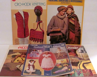 Five Knit and Crochet Books