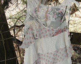 Shabby chic, gypsy boho, whimsy french chic, flowy romantic