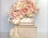 Private Listing for Linda - Two Tier Wedding Card Box