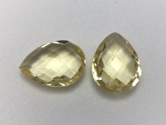 14k Yellow Gold Multi-gemstone Earrings - 15882591 ... |Light Yellow Gemstone Earrings