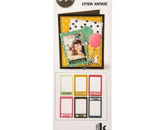 Sizzix Thinlits PHOTO FRAME & WORDS - 661401