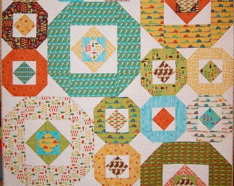 Happy Camper Quilt Pattern