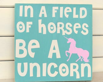 Unicorn Christmas Gift - Unicorn Gift - Unicorn Party - Unicorn Wood Sign - Unicorn Sign - Unicorn Decor - Unicorn Bedroom - Unicorn Nursery