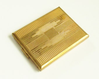 Vintage Art Deco KIGU Powder Compact 1930s