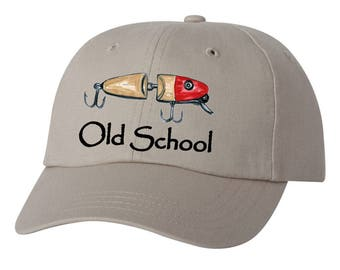 Old-School Vintage / Retro Fishing Lure Hat  ~NEW~