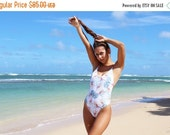50% Off Thanksgiving Sale BALI: Reversible high cut one piece bathing suit