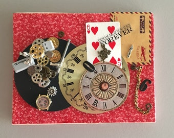 Cute Collage- Steampunk Collection Great Gift
