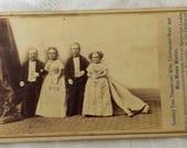 Rare Antique Photo General Tom Thumb Carte Vista Oddities