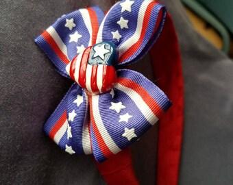 Americana Patriotic God Bless the USA Headband