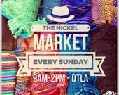 The Nickel Market Product Listing// DTLA // Los Angeles shoppers
