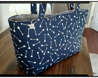 Arrows - Mini Tote
