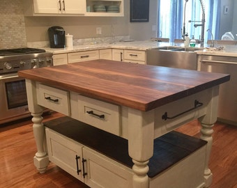The Livingston Kitchen Island