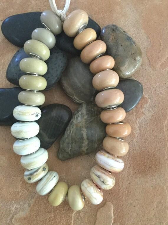 Clearance Handmade Lampwork Beads From Hmasdin On Etsy Studio