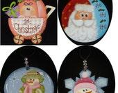 CUSTOM ORDER Ornaments for LORI B.