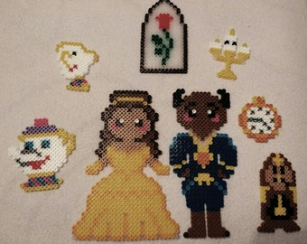 Beauty and the Beast Magnet Set