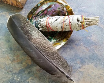 White Sage Smudge Kit, Space Clearing, Energy Cleansing, Herbal Incense, Energy Clearing, Ceremonial Cleansing, Ritual Smudge, Smudge Bundle