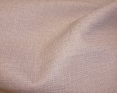 "Leather 8""x10"" Champagne Pink Burlap Basket / Canvas Weave Pattern Cowhide Leather Hide 2.5oz / 1 mm PeggySueAlso™"