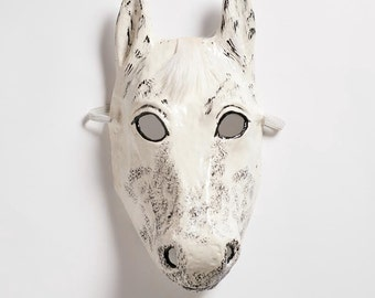 New Year horse paper mask