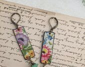 """Tin Jewelry Earrings """"Delight"""" RESERVED FOR SHAWNA"""