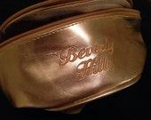 Vintage Gold Beverly Hills fanny pack