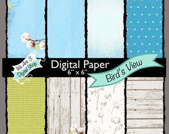 We Are 3 Digital Paper, Bird's View