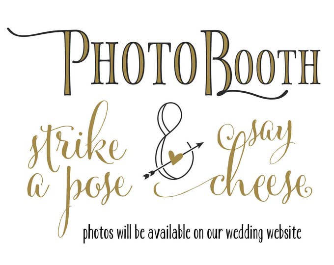 Photobooth Sign | Wedding Photobooth  | Wedding Photo Booth Sign | DIY PRINTABLE | Instant Download