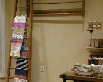 Store Display, Closet, Blanket,  Fabric Holder Wall Mounted. Hanging