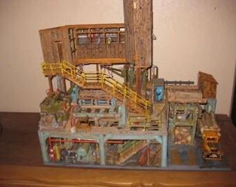 Sawmill diorama
