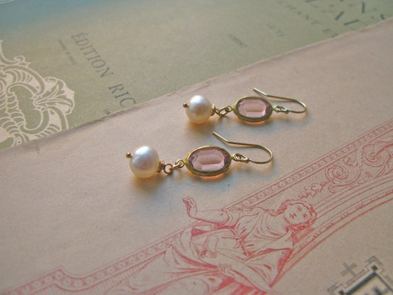 Pearly Delights earrings...