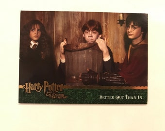 harry potter fridge magnet - better out than in