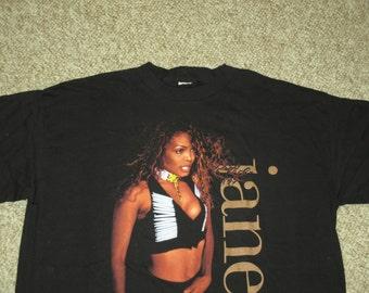 Rare NOS Vintage 1993 Janet Jackson Hip Hop RnB Tour T Shirt
