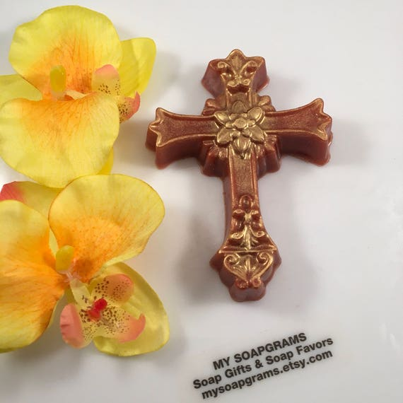 10 christian cross soap favors baptism favors sunday school gift il570xn negle Images