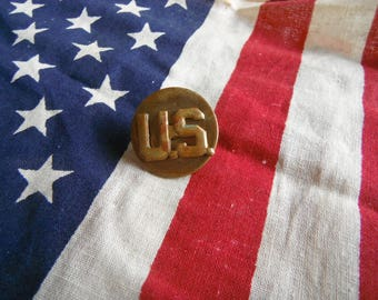 CHARITY - Vintage US Military Pin Badge