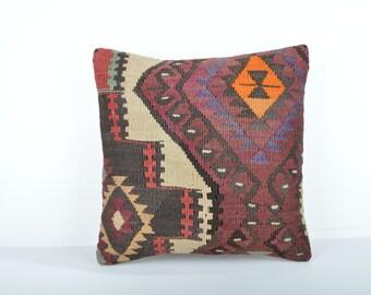 Kilim pillow cover, kp1736, Kilim Pillow, Turkish Pillow, Kilim Cushions, Kilim, Moroccan Pillow, Bohemian Pillow, Turkish Kilim