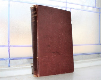 Antique 1881 Book Reminiscences by Thomas Carlyle