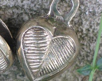 Heart brass bell on sale half off
