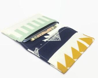 Women's Wallet, Card Wallet, Tribal Wallet, Travel Wallet, Business Card Holder, Credit Card Holder, Minimalist Wallet, Card Holder