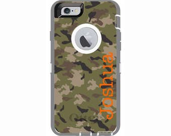 iPhone 6 & iPhone 6s Camouflage Otterbox Defender Phone Case
