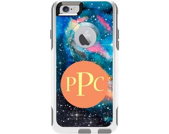 Watercolor Galaxy Personalized Custom Otterbox Commuter Case for iPhone 6 and iPhone 6s