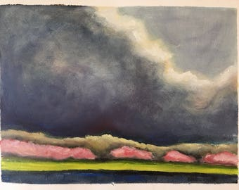 Study of a Storm over the Tidal Basin