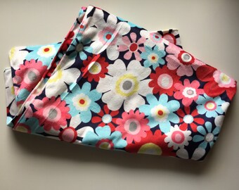 Baby Toddler Floral Minky Blanket // In Stock Ready to Ship