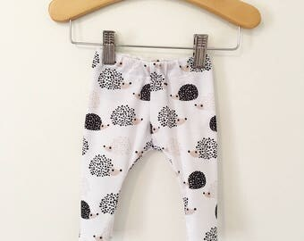 Hedgehog Baby and Toddler Leggings
