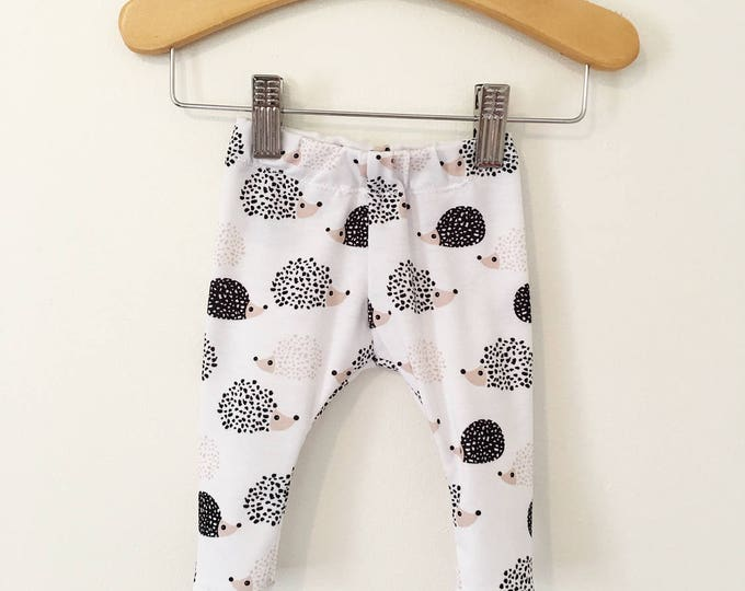 Hedgehog Baby and Toddler Leggings