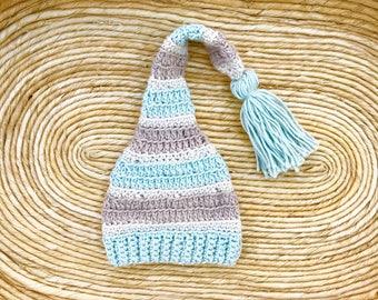 crochet baby boy hat
