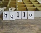 Vintage My Alpha-Box Plastic Alphabet Letters in Original Box